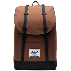 Herschel Retreat Selkäreppu 19,5l, saddle brown/black